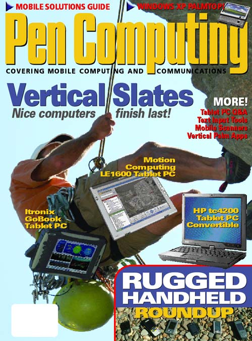 Current Pen Computing Magazine Cover