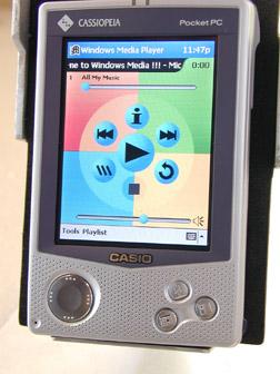 windows media player ipaq: